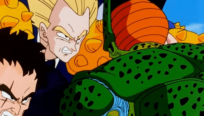 Dragon Ball Z Dublado Episódio 144 - Cell escapa das mãos de Piccolo!