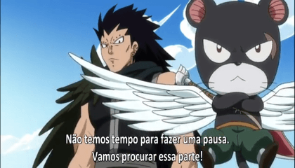 Fairy Tail  Episódio 135 - Pegadas do Mito