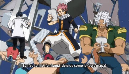 Fairy Tail  Episódio 156 -  Labirinto do Céu