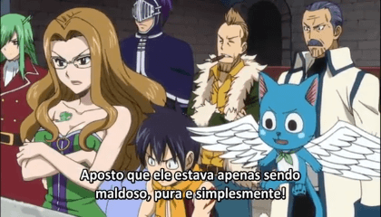Fairy Tail  Episódio 162 - Elfman VS Bacchus
