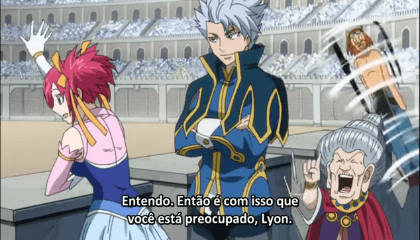 Fairy Tail  Episódio 167 -  100 VS 1