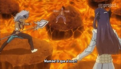Fairy Tail  Episódio 182 - Terra Ardente