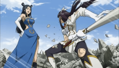 Fairy Tail  Episódio 185 -  Erza Vs. Kagura