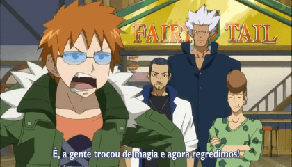 Fairy Tail  Episódio 19 - Changeling