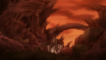 Fairy Tail  Episódio 249 - História de Tartaros: Rei dos Espíritos Vs Rei do Submundo