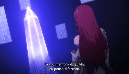Fairy Tail  Episódio 285 -  O Sétimo Mestre da Guilda