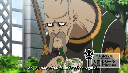 Fairy Tail  Episódio 287 - Imperador Spriggan