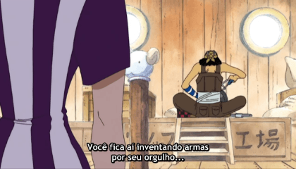 ONE PIECE  Episódio 117 - A Advertência do Tornado de Nami! Explosão do Clima-Tact