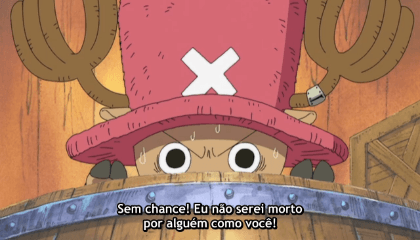 ONE PIECE  Episódio 131 - Primeiro Paciente! Anedóta da Rumble Ball