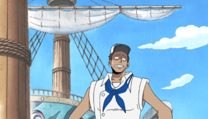 ONE PIECE  Episódio 138 - O Paradeiro do Tesouro da Ilha! A Todo Vapor, Piratas de Zenny!
