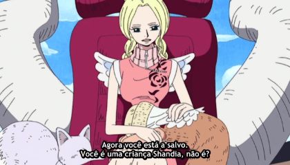ONE PIECE  Episódio 172 - A Provação do Pântano! Chopper vs. Sacertode Gedatsu!!