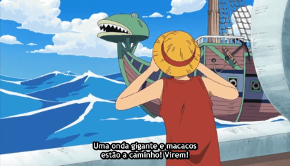 ONE PIECE  Episódio 207 - Long Ring Long Land. A Grande corrida