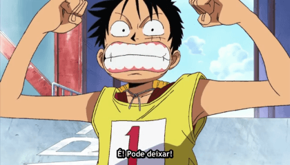 ONE PIECE  Episódio 214 - O Clímax da Corrida Entrando no Round Final