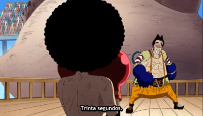 ONE PIECE  Episódio 218 - Válvula de Raios Noro Noro vs. O Invulnerável Luffy