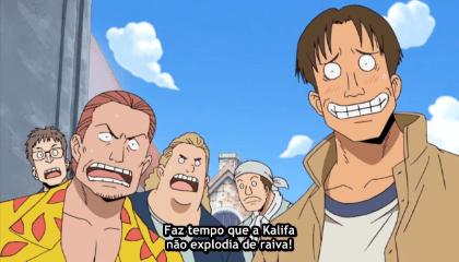 ONE PIECE  Episódio 231 - A Gangue de Franky e Iceburg