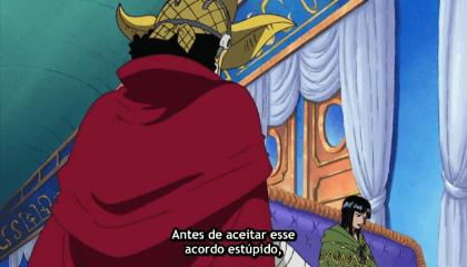 ONE PIECE  Episódio 260 - Duelo no telhado! Franky vs. Nero