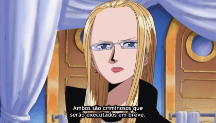 ONE PIECE  Episódio 263 - A Ilha do julgamento! A vista de Enies Lobby!