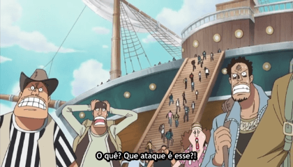 ONE PIECE  Episódio 277 - A Tragédia de Ohara! O Terror do Buster Call