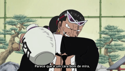 ONE PIECE  Episódio 286 - O poder do Akuma no Mi! Kaku e Jabura se transformam.