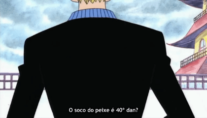 ONE PIECE  Episódio 39 - Luffy Submerge! Zoro vs. o polvo Hatchan