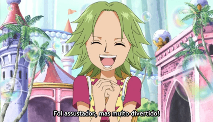 ONE PIECE  Episódio 393 - O Alvo é Caimie!! Os Sequestradores se Aproximam.
