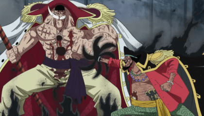ONE PIECE  Episódio 485 - Acertando as contas! Barba Branca Vs Os Piratas do Barba Negra! O Grande Pirata, Edward Newgate