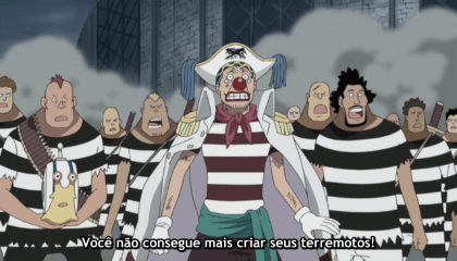 ONE PIECE  Episódio 486 - O Começo do Show! O Plano de Barba Negra Revelado!
