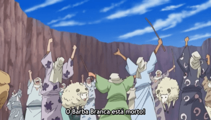 "ONE PIECE  Episódio 490 - Poderosos Rivais Independentes! O começo da ""Nova Era""!"