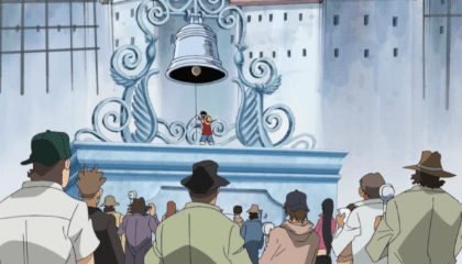 ONE PIECE  Episódio 511 - Improvável Retorno! Luffy vai ao Quartel General da Marinha!