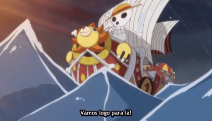 ONE PIECE  Episódio 579 - Punk Hazard, a ilha ardente!