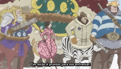 ONE PIECE  Episódio 584 - Um Duelo de Esgrima – Brook VS o Torso do Samurai Misterioso