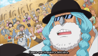ONE PIECE  Episódio 634 - O Nobre Pirata Cavendish.