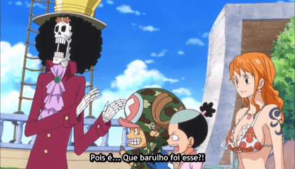 ONE PIECE  Episódio 635 - O Encontro Destinado – Bellamy, O Hiena