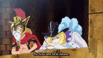 ONE PIECE  Episódio 636 - Supernova! Bartolomeo, O Canibal.