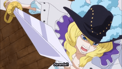ONE PIECE  Episódio 650 - Luffy e o destino da Gladiadora Rebecca.