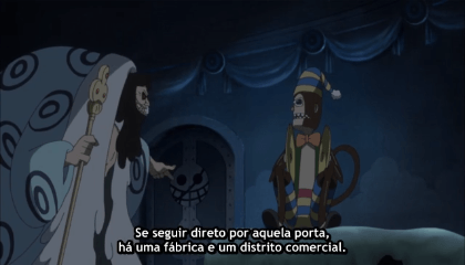 ONE PIECE  Episódio 657 - O Guerreiro mais violento! Logan VS Rebecca