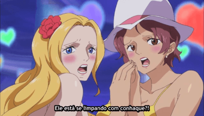 ONE PIECE  Episódio 667 - A Decisão do Almirante – Fujitora Vs Doflamingo.