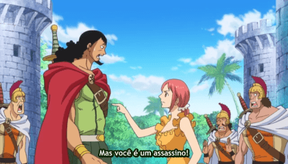ONE PIECE  Episódio 675 - O Encontro do Destino! Kyros e o Rei Riku.
