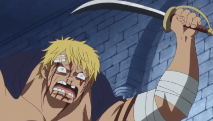 ONE PIECE  Episódio 708 - Uma Batalha Intensa! Law Vs Doflamingo