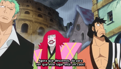ONE PIECE  Episódio 726 -  Gear 4! O Assombroso Bounceman!