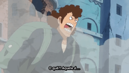 ONE PIECE  Episódio 728 - Luffy! O Devastador Leo Bazooka!