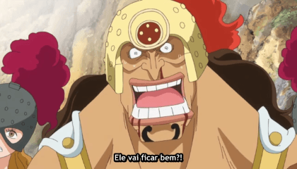 ONE PIECE  Episódio 733 - Derrubando os Céus. A Fúria do King Kong Gun de Luffy.