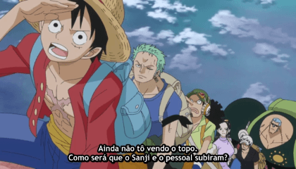 ONE PIECE  Episódio 753 - Escalada Mortal! A Grande Aventura nas Costas do Elefante Gigante!