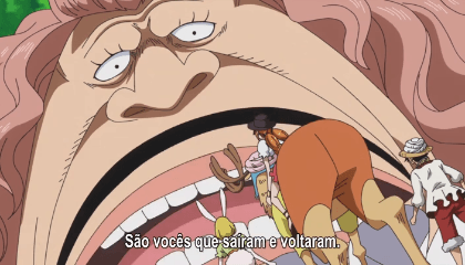 ONE PIECE  Episódio 792 - Assassinos da Mon! Luffy e a Mata Sedutora!
