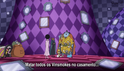 ONE PIECE  Episódio 826 - Sanji Retorna! Destrua! A Festa de Chá do Inferno!