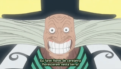 ONE PIECE  Episódio 90 - As Flores de Cerejeiras de Hiluluk! O Milagre nos Drum Rockies