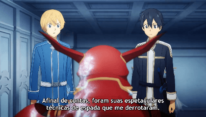 Sword Art Online: Alicization Episódio 14 - O Cavaleiro Escarlate