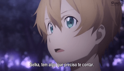Sword Art Online: Alicization Episódio 4 - Despedida
