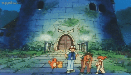 Pokémon Dublado Episódio 23 - A Torre do Terror!