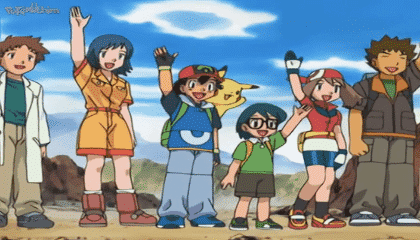 Pokémon Dublado Episódio 383 - Implorar, Cavar e Roubar